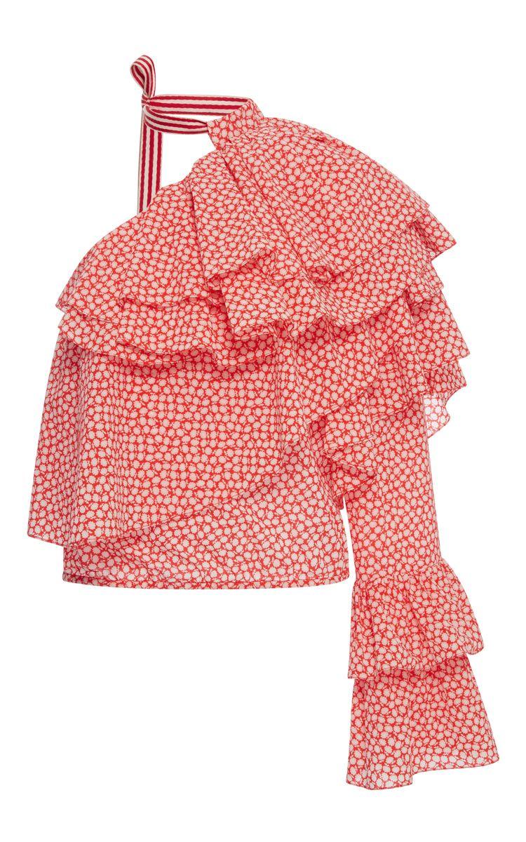 e7cb4ffa76 ROSIE ASSOULIN Cork Screw Top. #rosieassoulin #cloth #top | Rosie ...
