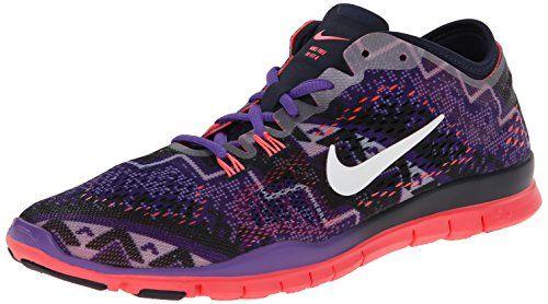 Nike Women's Free Tr Fit 4 Prt Obsdn/Ivry/Hypr Grp/Hypr Pnch Training Shoe  8 Women US >>> Visit the image link more details.