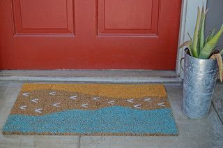 Step Up to a Work-of-Art Doormat