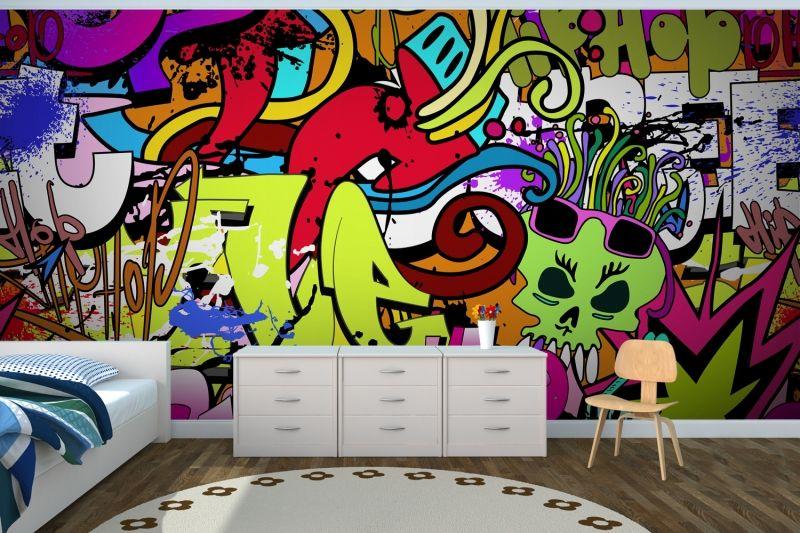 Great Funky Wall Art Wallpaper Wall Mural