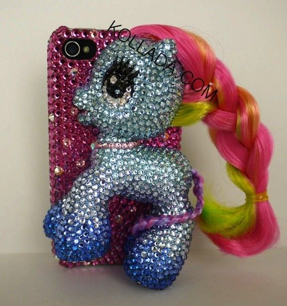 quality design d18ac a3d49 Jenna Jameson's Blinged My Little Pony iPhone Case   Products I Love ...
