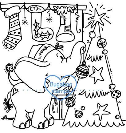 Bugaboo Elephant Christmas Tree | Christmas elephant ...