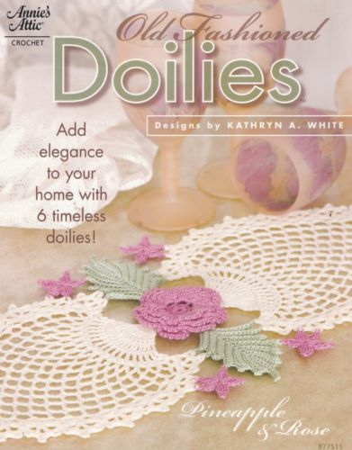 Old Fashioned Doilies Annie 039 S Attic Crochet Pattern Booklet