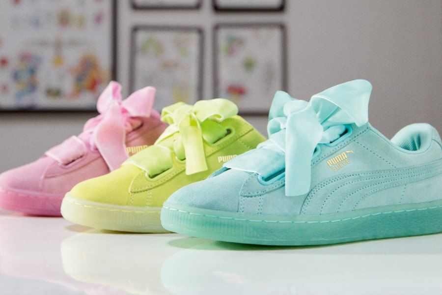 puma basket heart online shop