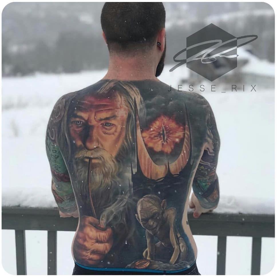 Beautiful chest tattoo artist jesse_rix support my
