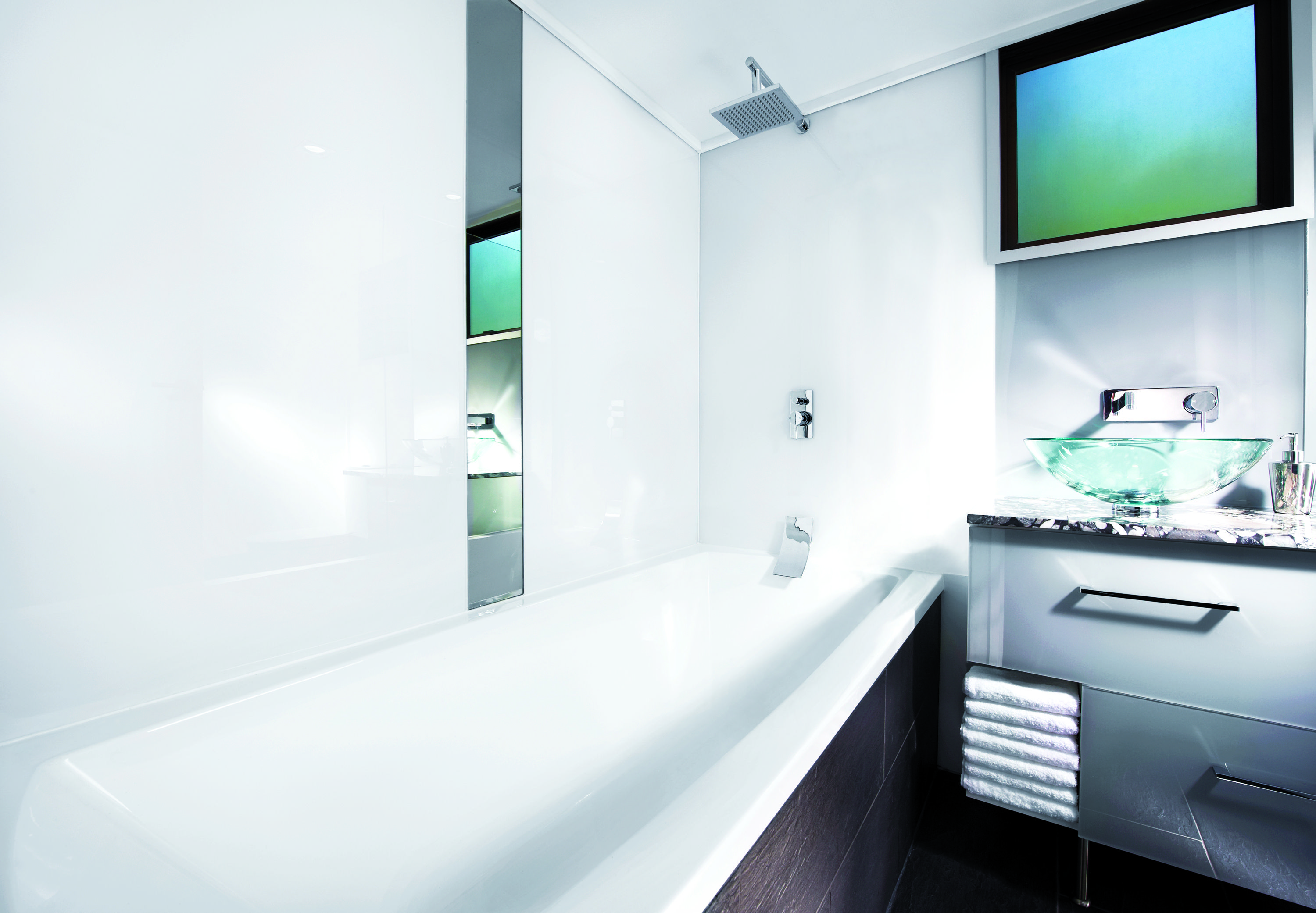 Lustrolite is an award winning high gloss acrylic wall ...