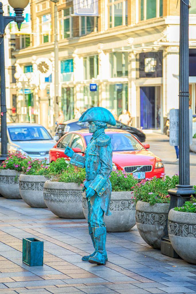 Street Performer, Seattle, WA, September, 2012 Art