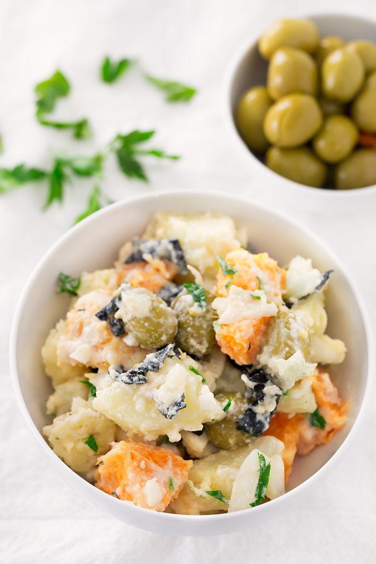 Vegan Malaga Salad Ensalada Malagueña