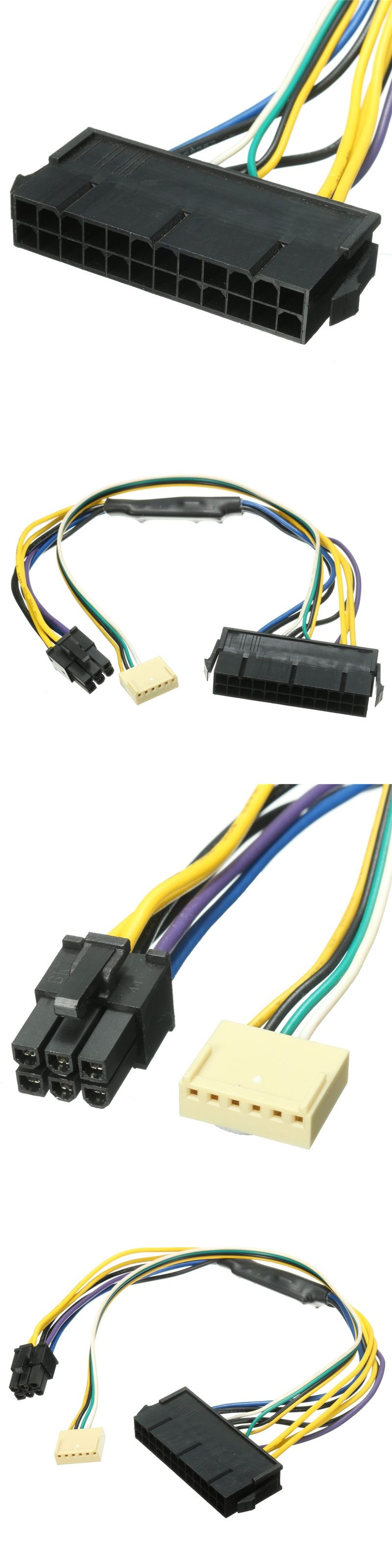 Hp Z220 Z230 Atx Psu Power Cable 30cm Sff Mainboard 24pin To 2 Port Wiring Diagram 6pin 18