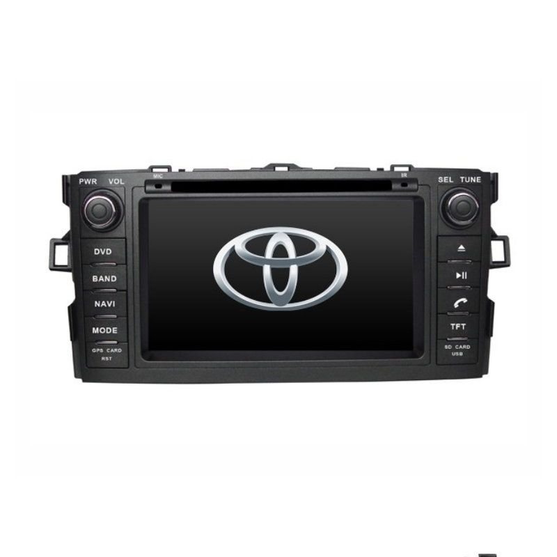 For Toyota Auris 2008 2012 Car Dvd Player Gps Navigation Touch Screen Radio Stereo Multimedia System Gps Navigation Toyota Auris Gps