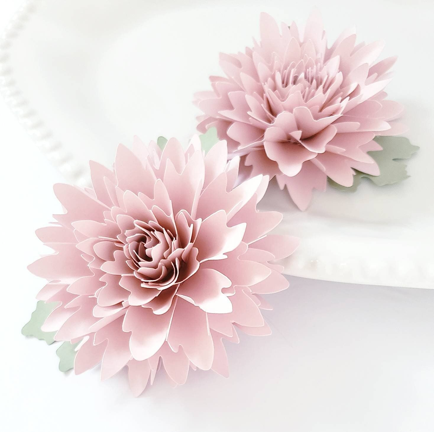 Download Easy Paper Flower Tutorial - Paper Flower Templates ...
