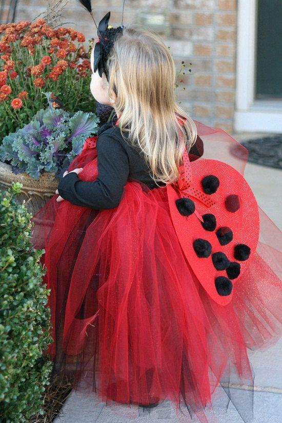 Ladybug Costume Tutu Dress with Wings by BlissyCoutureTutus, $65.00 ...