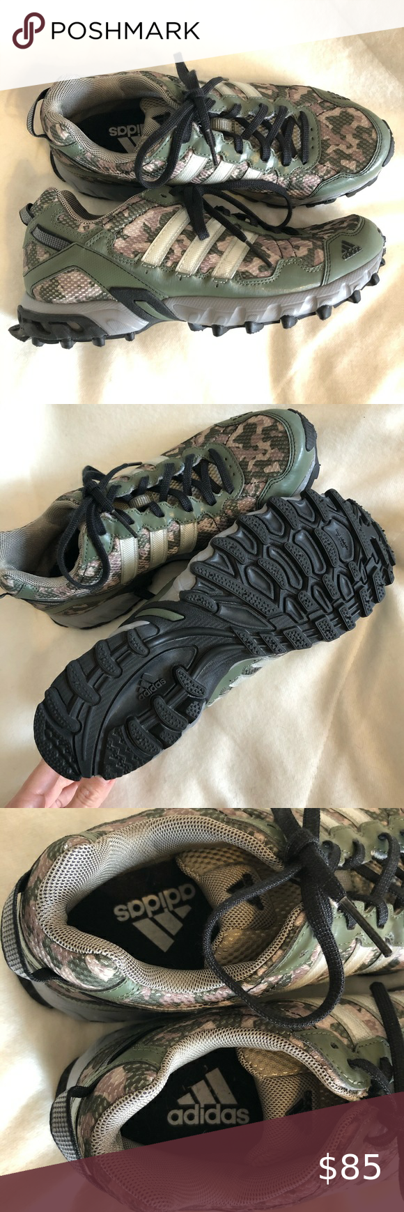 ADIDAS CAMO SNEAKERS MUD RELEASE