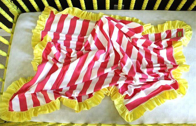 TUTORIAL: Ruffle Blanket | MADE