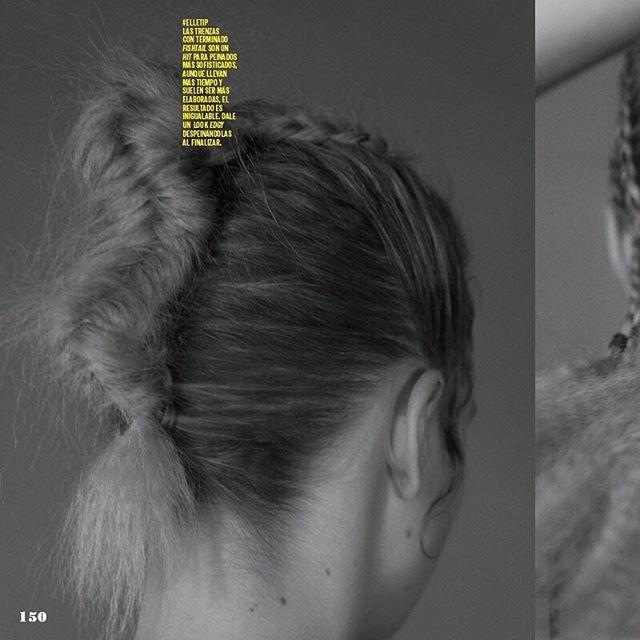 El pelo perfecto es un must para primavera  no te pierdas las mejores trenzas y hazlas tu misma en nuestra edición de mayo. #ElleMx  via ELLE MEXICO MAGAZINE OFFICIAL INSTAGRAM - Fashion Campaigns  Haute Couture  Advertising  Editorial Photography  Magazine Cover Designs  Supermodels  Runway Models