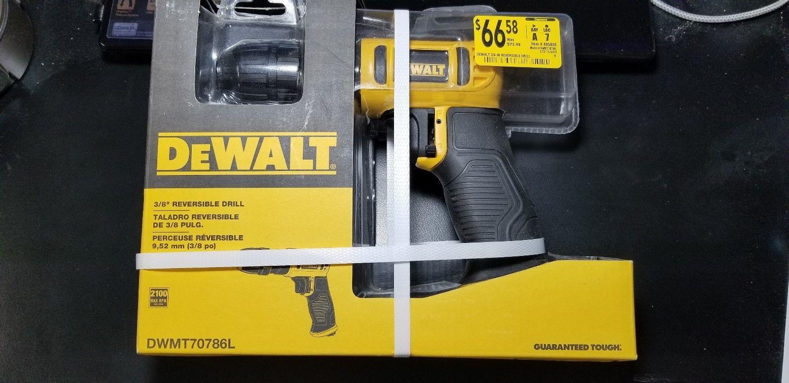 Drills 42245 Dewalt Air Reversible Drill Dwmt70786l