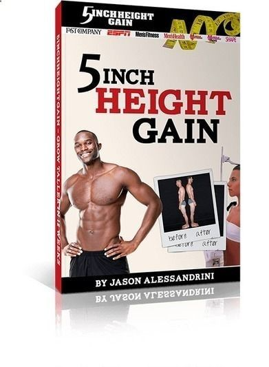 The 5InchHeightGain Blueprint By Jason Alessandrini PDF Free Download. Its  Time To End The Confusion, Cut Through The Nonsense And Discover The Simu2026