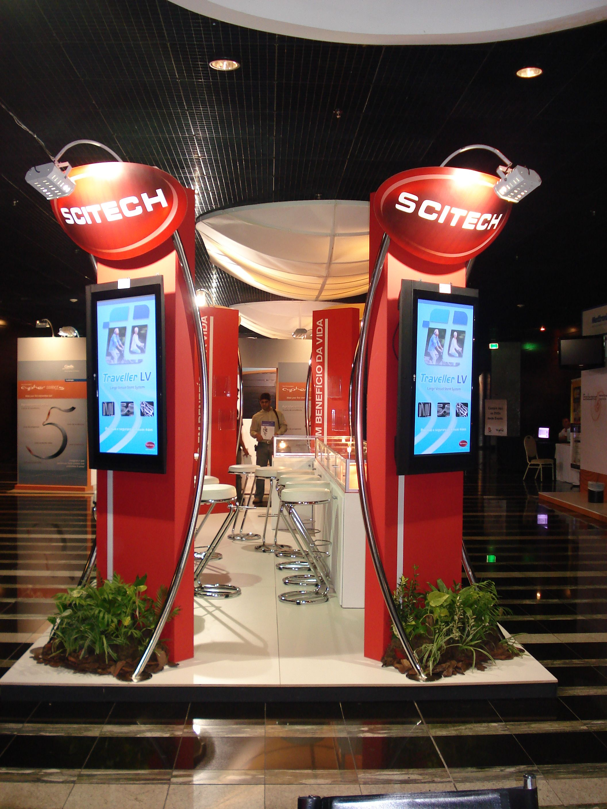 Stand realizado - expositor Scitech