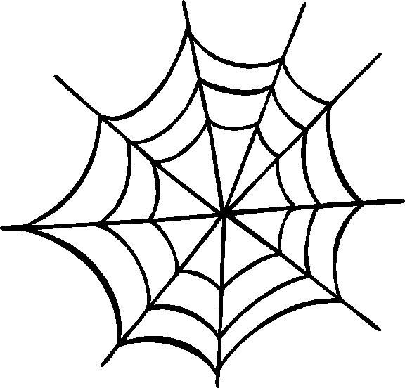 Spider Web Outline Clipart Best Spider Web Spider Web Drawing Clip Art
