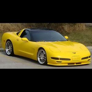 Corvette C5 R Front Spoiler Only Corvette C5 2004 Corvette Corvette