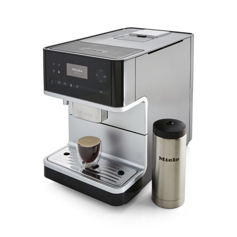 Miele Cm6350 Black Countertop Coffee Machine Coffee Machine Buy