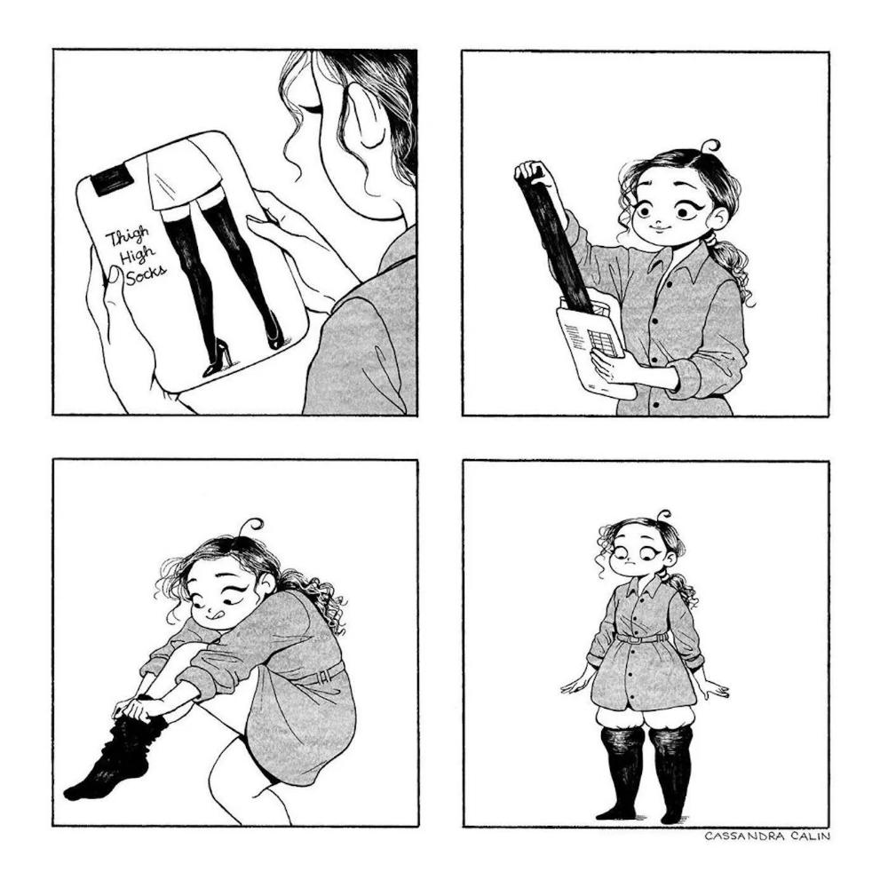 La géniale Cassandra Calin dessine ses galères du quotidien avec beaucoup d'humour
