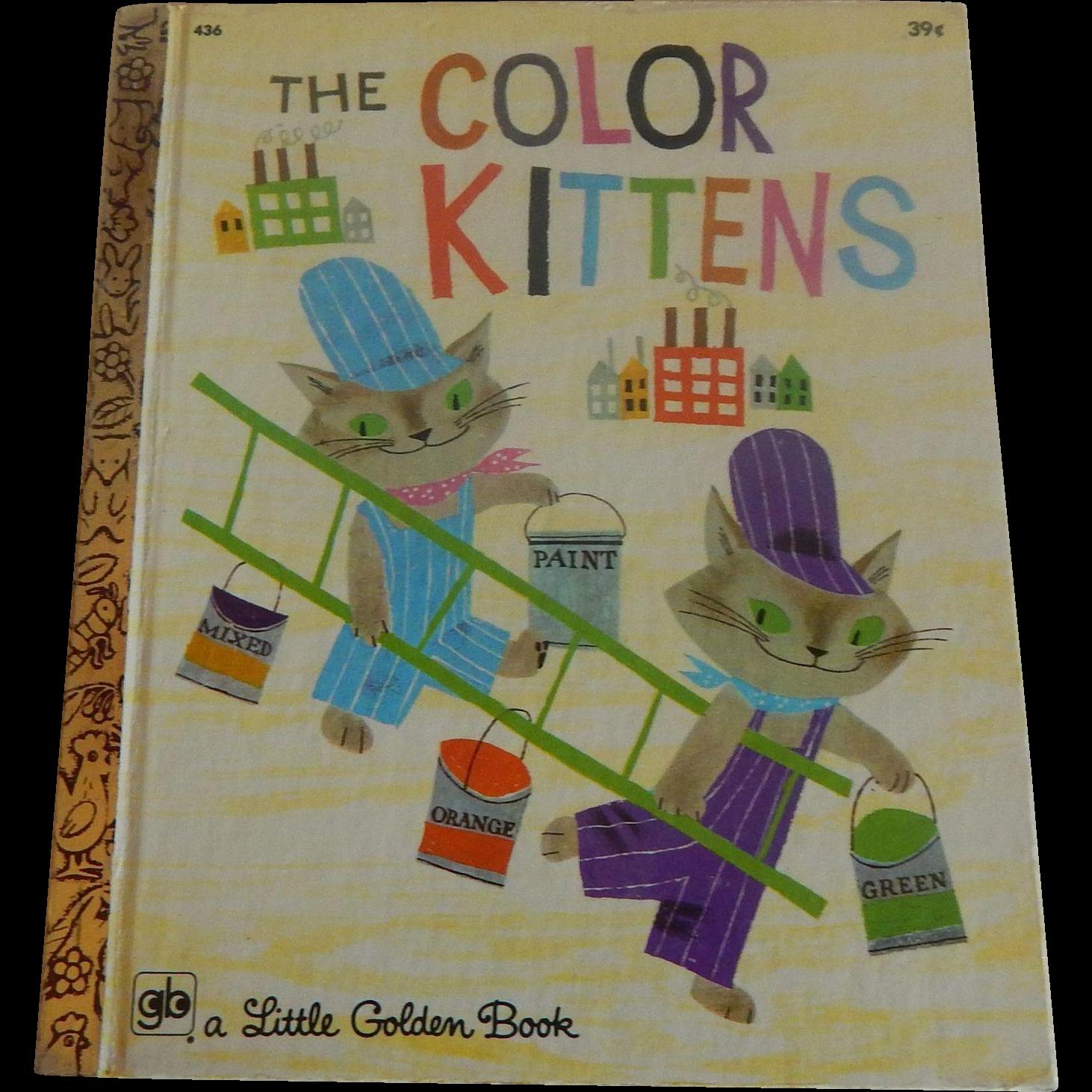 Little Golden Book The Color Kittens Little Golden Books Childhood Memories Toys Favorite Childhood Books