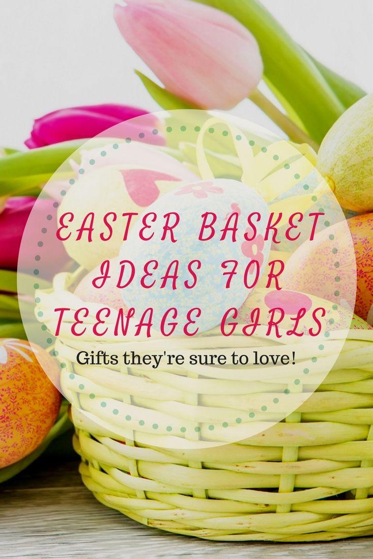 Easter basket ideas for teenage girls easter baskets