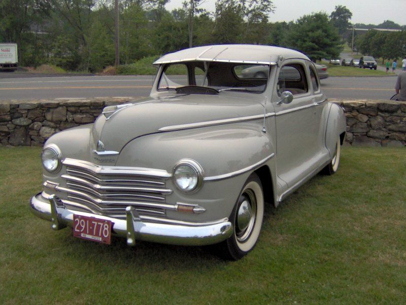 1948 Plymouth My Parents Had This Car When They Were A Young