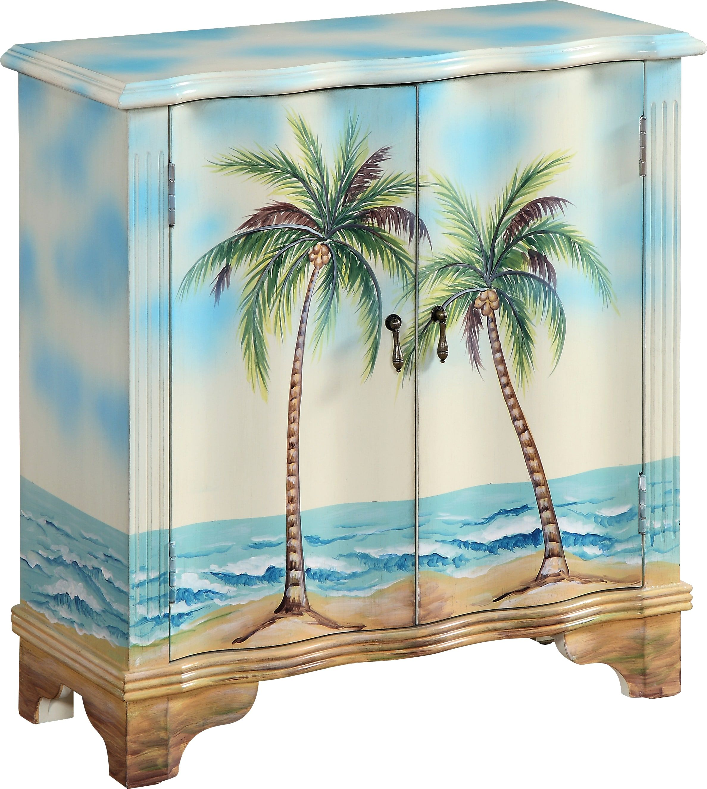 Best Bermuda Blue Accent Cabinet Accent Cabinet Colorful 400 x 300