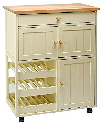 Traditional Buttermilk Multi Purpose Country Kitchen Wooden