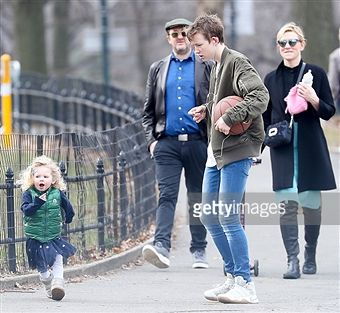 Cate Blanchett Andrew Upton And Children Dashiell Ignatius And Edith Are Spotted In Central Park On Fe Cate Blanchett Ian Mckellen Catherine Elise Blanchett