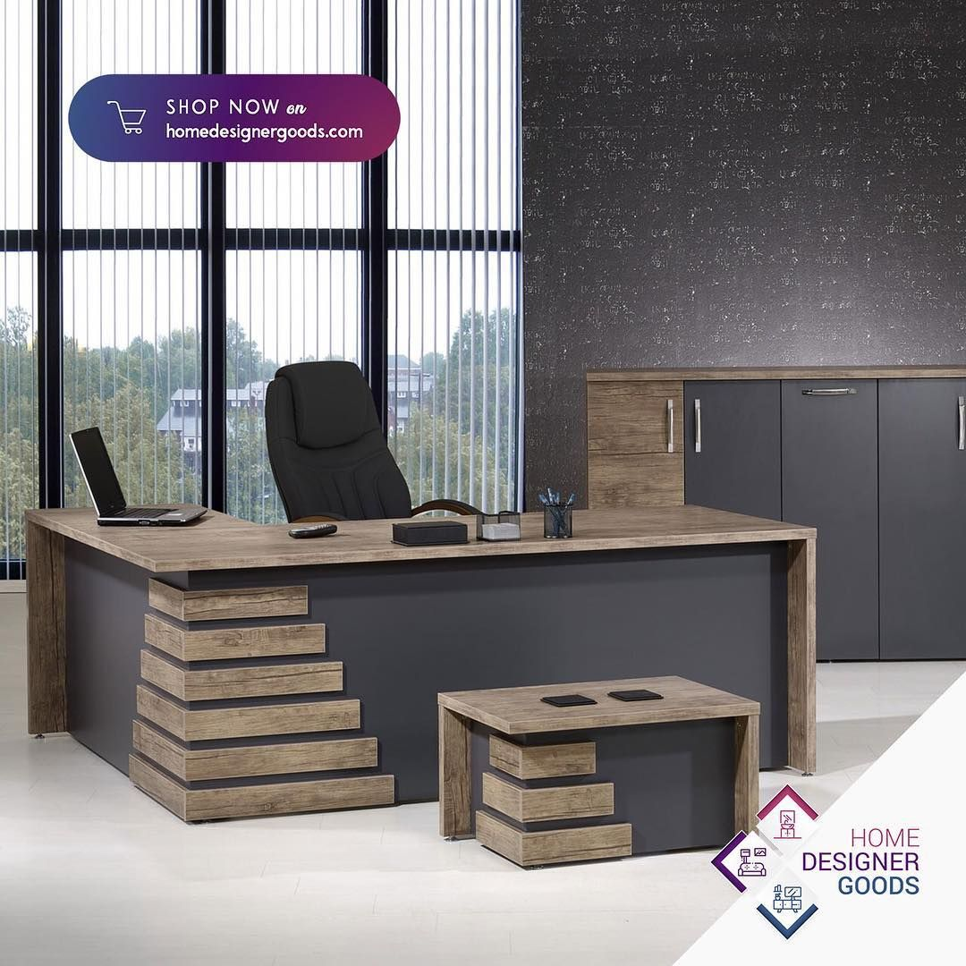 Your Office Is Your Bond Keep Your Motivation Always On With Them Homedesigner Office Table Design Office Reception Table Design Office Counter Design