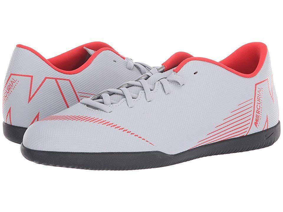 new product 0196d bf6d8 Nike VaporX 12 Club IC (Wolf Grey Light Crimson Black) Men s Soccer