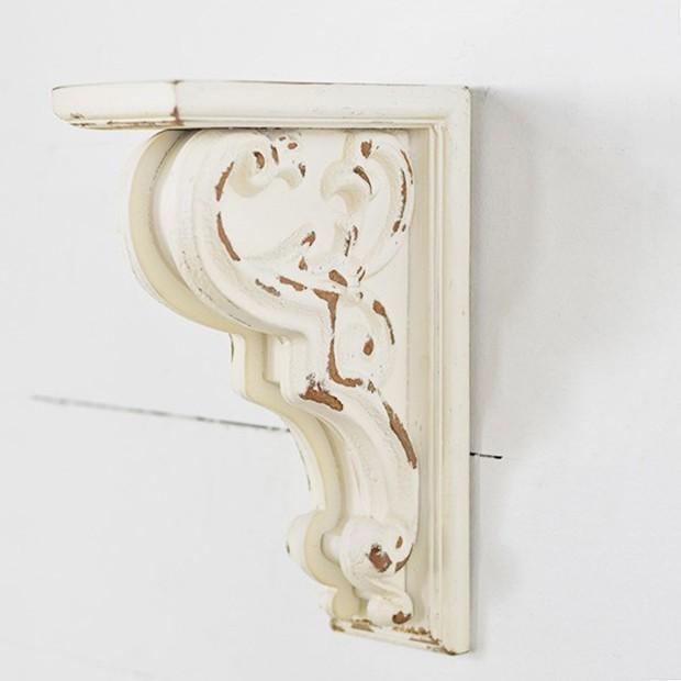 Distressed Decorative Corbel Bracket In 2020 Decorative Corbels Decor Farmhouse Style Decorating