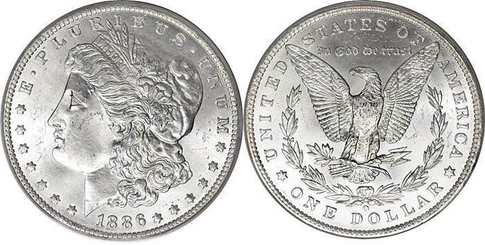 MORGAN SILVER DOLLAR 1878-1904 (1921) SPECIFICATIONS Designer