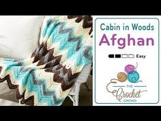 Crochet Cabin in the Woods Afghan + Tutorial - The Crochet Crowd