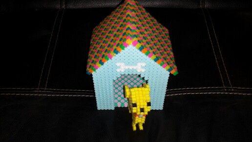Bead dog house