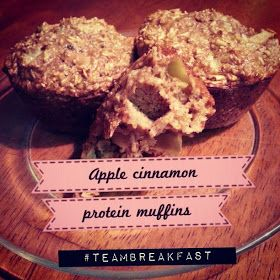 Fit2Flex*: Apple Cinnamon Protein Muffins + Giveaway