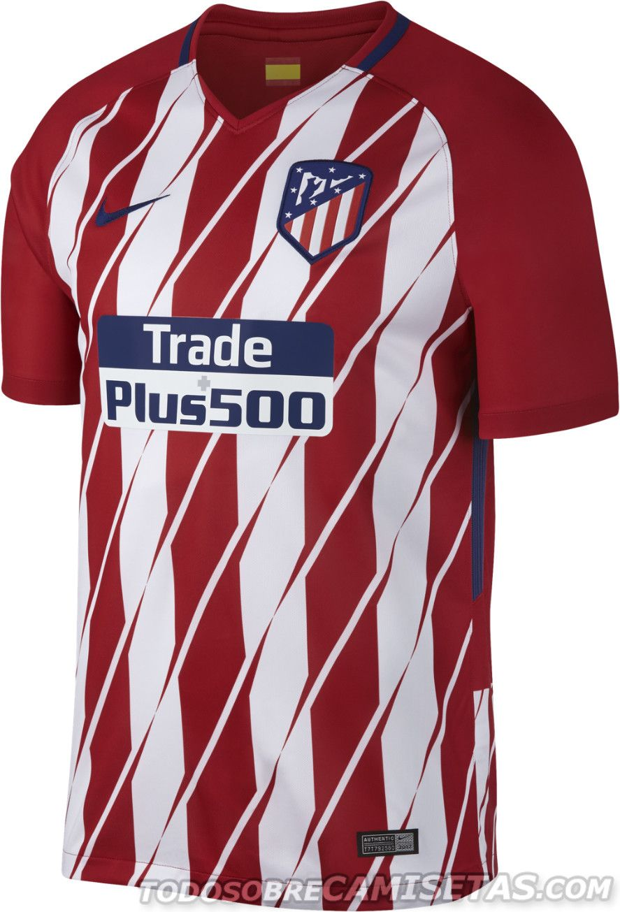 Camisetas Nike de Atletico de Madrid 2017-18  2bf4944be4eed