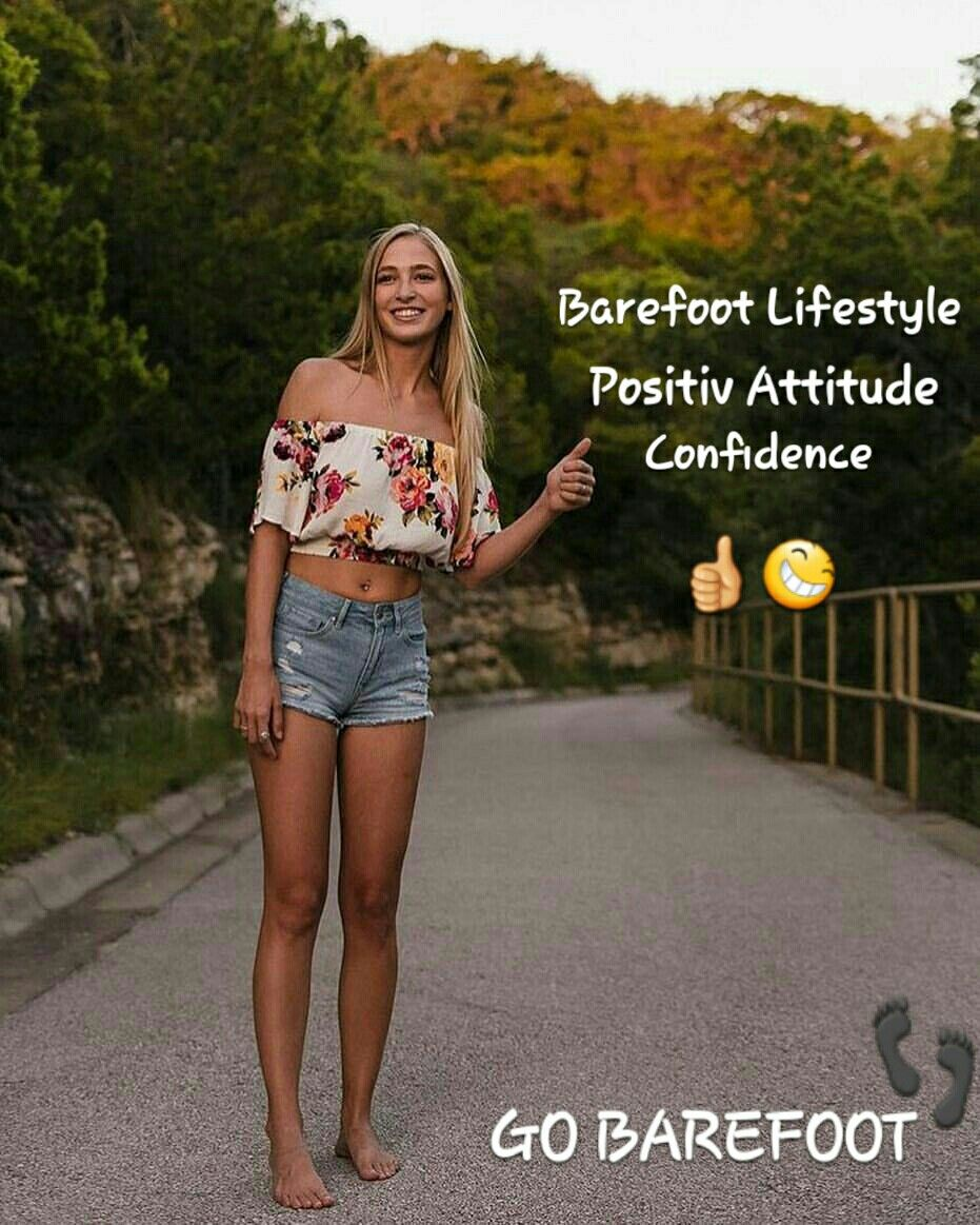 Barefoot Develops Positive Attitude And Confidence