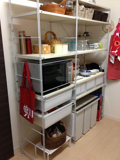 無印のユニットシェルフ 無印 ユニットシェルフ キッチン ユニットシェルフ 無印良品 ユニットシェルフ キッチン