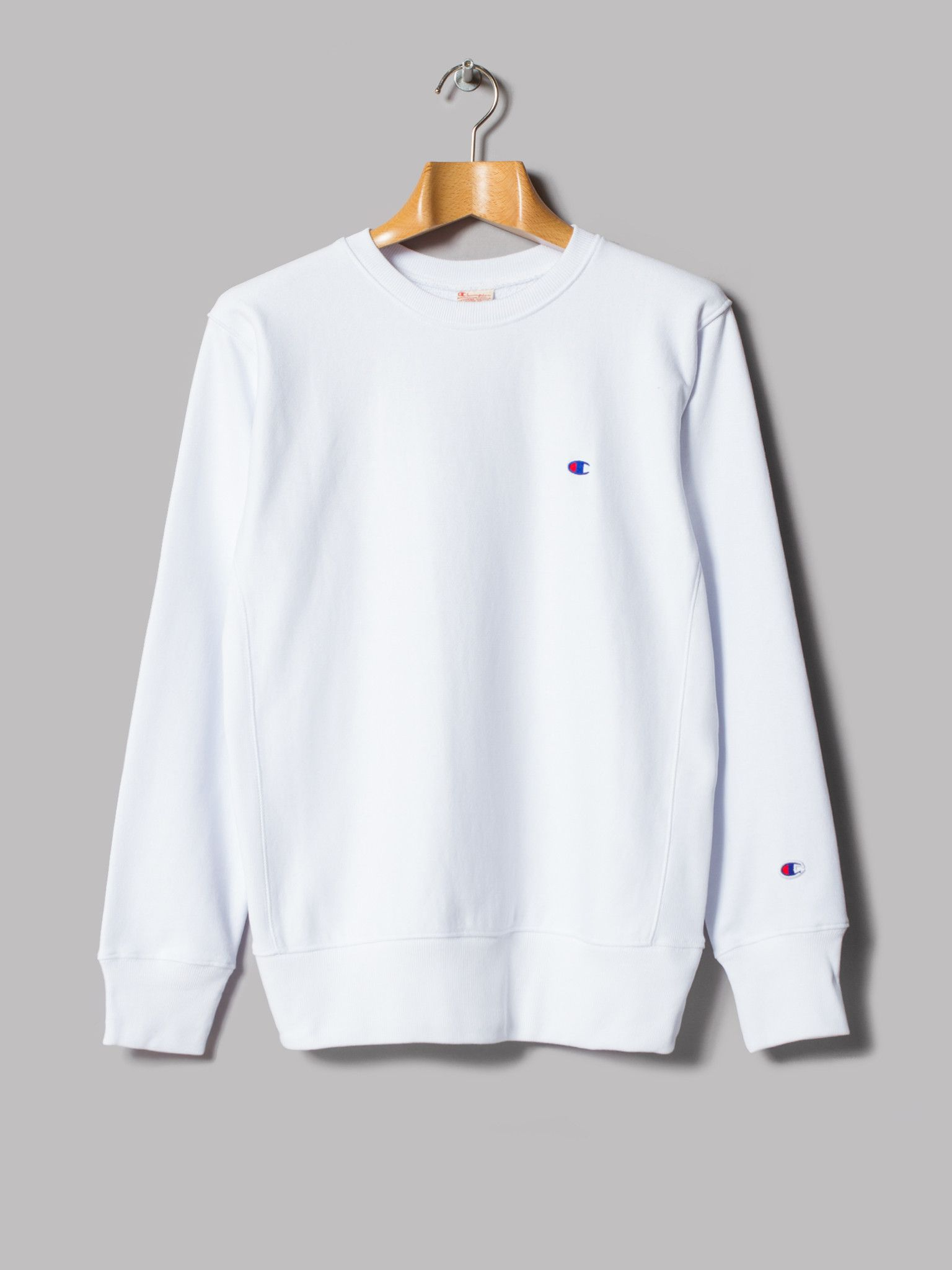 Champion Sweatshirt White | Fashion Ql
