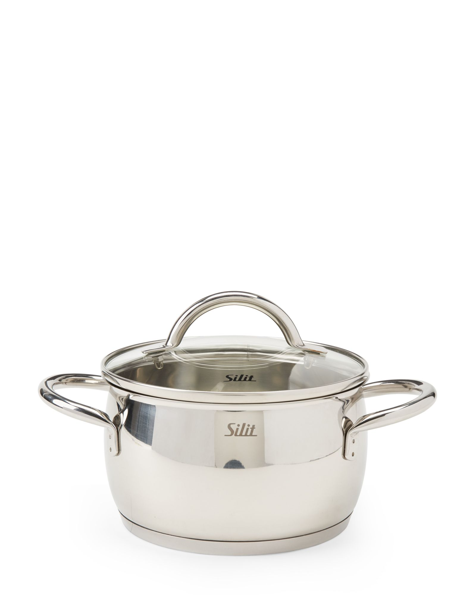Silit 2.1 Quart Covered Stainless Steel Casserole Pot