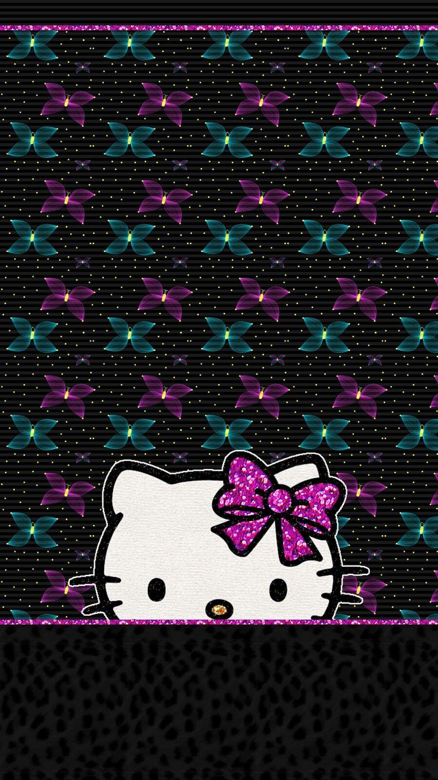 Hk wallpaper iphone Hello kitty backgrounds, Hello kitty