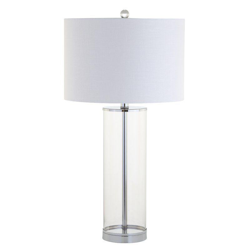 Ruxton 29 Table Lamp Allmodern Glass Table Lamp Lamp Table Lamp
