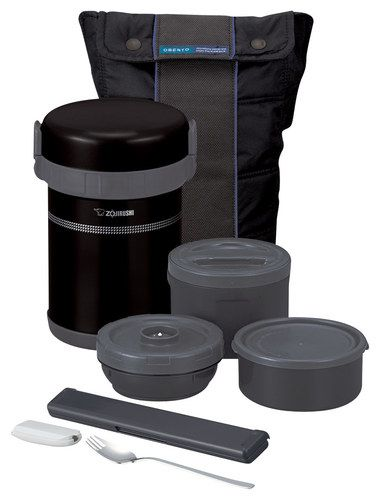 Zojirushi - Classic Bento Lunch Jar - Ultra Black