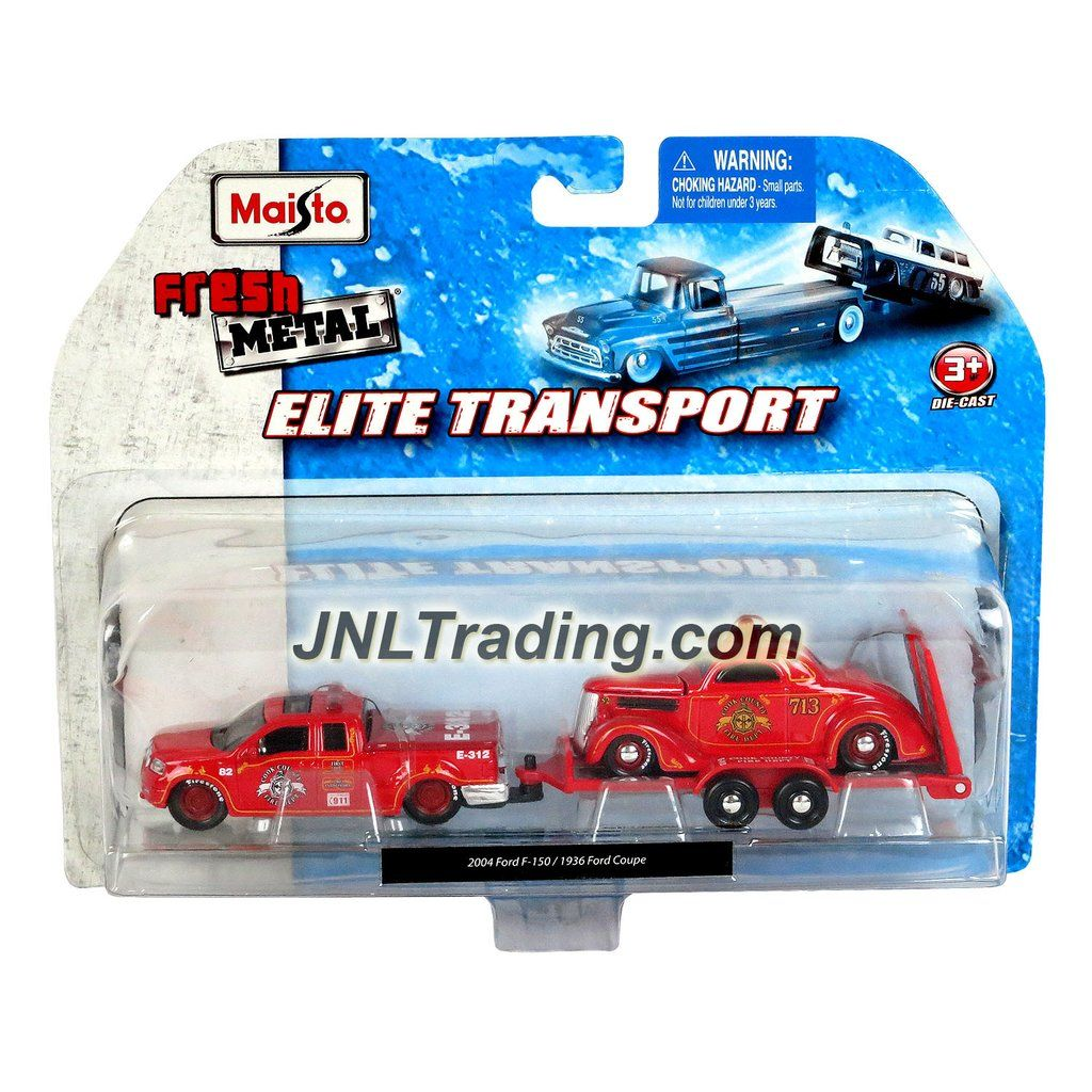 9723d57e480be Maisto Fresh Metal Elite Transport Series 1 64 Scale Die Cast 2 Pack C –  JNL…
