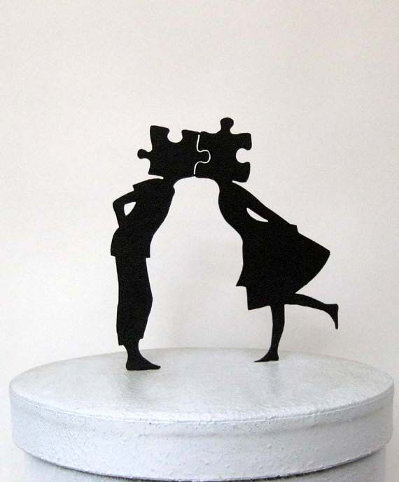 Hey, j'ai trouvé ce super article sur Etsy, chez https://www.etsy.com/fr/listing/209917959/wedding-cake-topper-puzzle