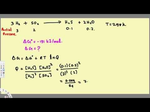 Gibbs Free Energy Equilibrium Constant, Enthalpy & Entropy ...